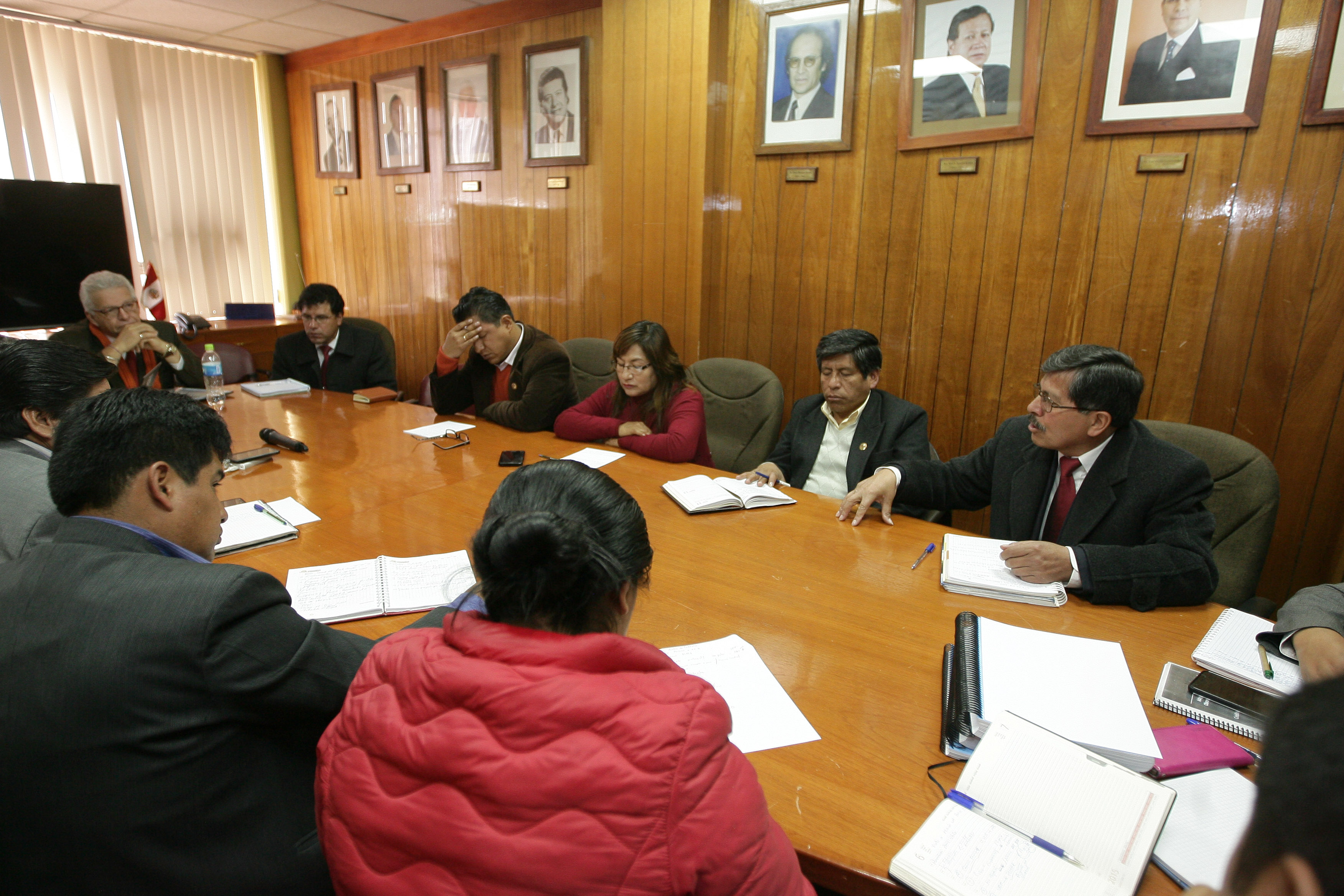 En la reunión gestada por el Ingeniero Ítalo Ramos Cal