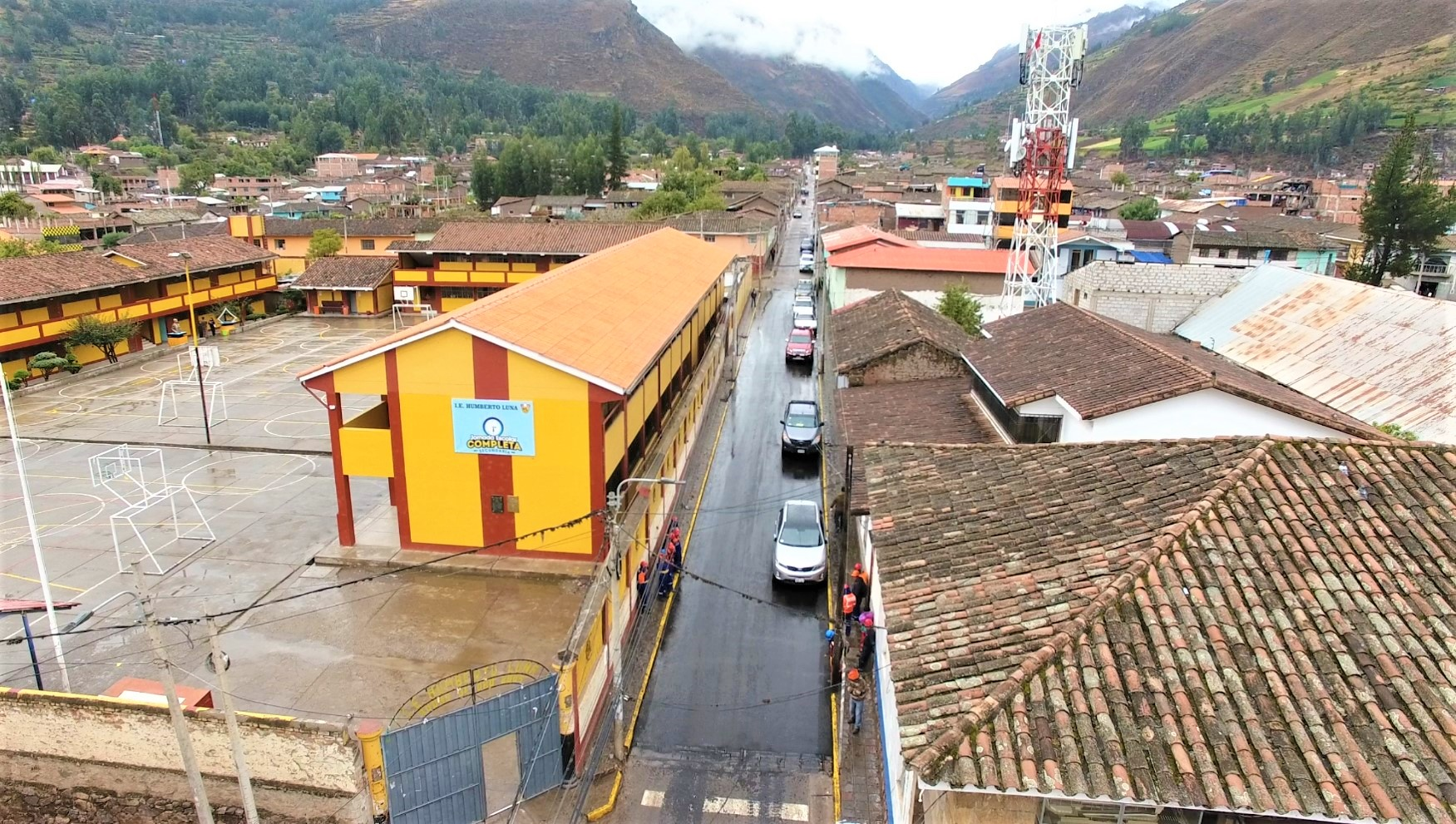 Más de 16 mil metros cuadrados de Vías serán asfaltadas en la ciudad de Calca.